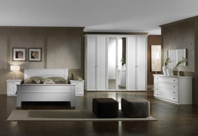 Camera matrimoniale con letto contenitore modello miami mobil discount - Camera matrimoniale classica ...