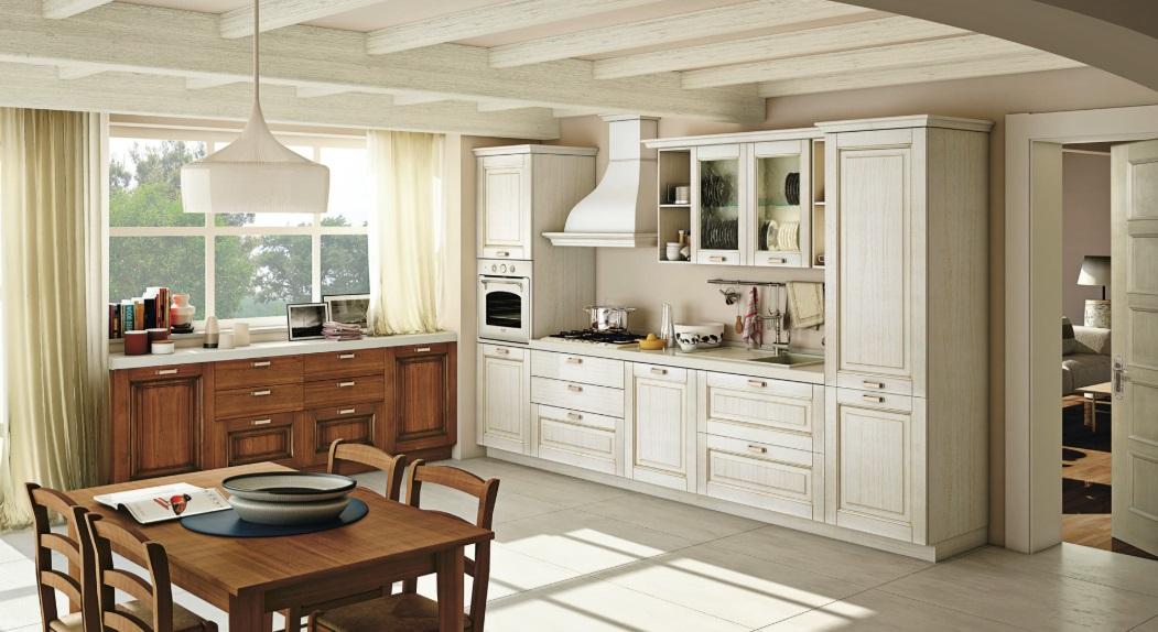 Cucina Creo-Kitchens Lube Cucine Classica Con Anta In Legno ...