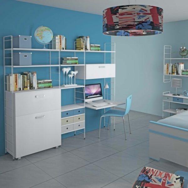 Libreria_Componibile_Ferro_CAmerette_Studio
