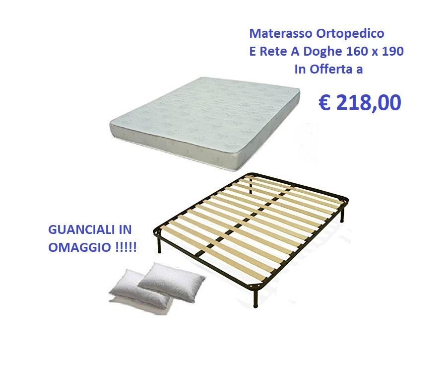 ATTENZIONE : Rete a Doghe + Materasso Matrimoniale Ortopedico= OFFERTA!!!