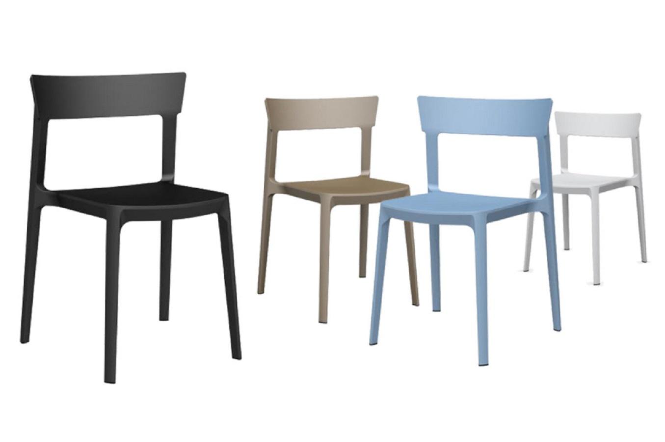 Calligaris offerta sedia moderna impilabile modello skin mobil discount - Sedia skin calligaris ...