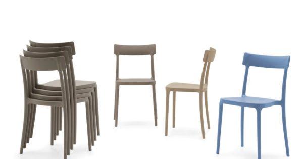 Calligaris offerta sedia moderna impilabile modello argo mobil discount - Tavoli calligaris in offerta ...