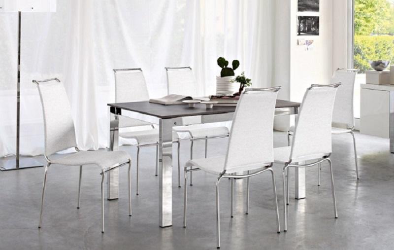 Calligaris offerta sedie air high in metallo e rete con for Sedia air calligaris