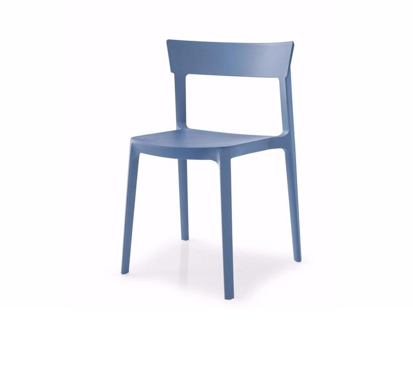 calligaris offerta sedia moderna impilabile modello skin