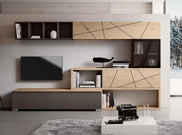 soggiorno moderno componibile modello mito 3 0