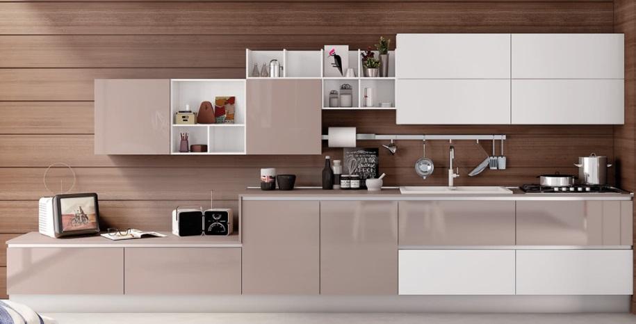 Cucina creo kitchens lube cucine moderna e vintage modello kyra mobil discount - Cucina lube kyra ...
