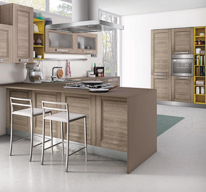 Cucina Moderna Anta A Telaio : Cucina creo kitchens lube cucine moderna anta telaio
