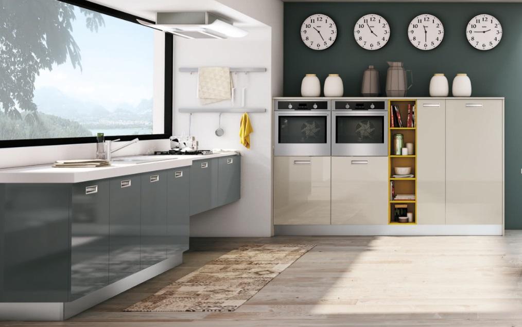 Cucina creo kitchens lube cucine moderna con anta moderna for Cucina zoe
