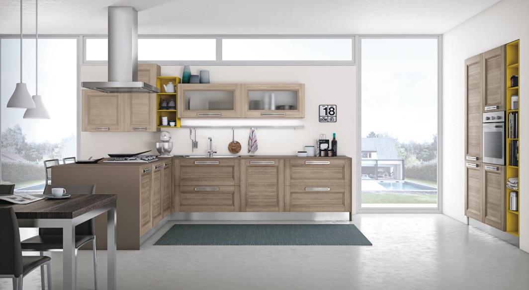 Cucina creo kitchens lube cucine moderna anta telaio modello mya mobil discount - Creo cucine lube ...
