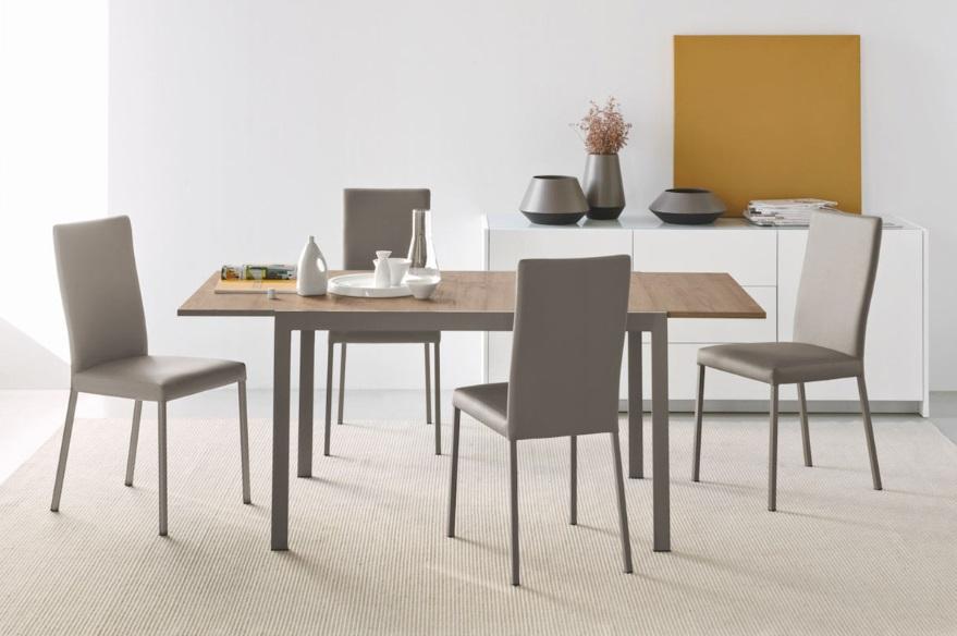 Calligaris offerta sedia in ecopelle vari colori modello garda mobil discount - Tavoli calligaris in offerta ...