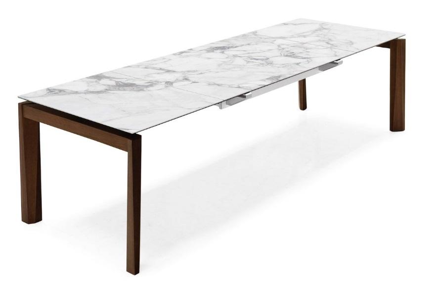 Calligaris offerta tavolo con gambe in metallo e piano in ceramica modello esteso mobil discount - Tavoli calligaris in offerta ...