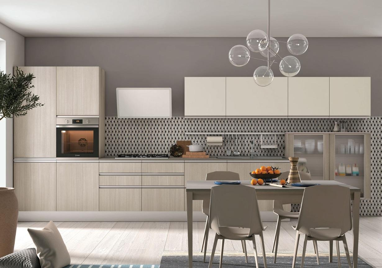 Cucine Lube Recensioni : Cucina creo kitchens lube cucine moderna con gola o