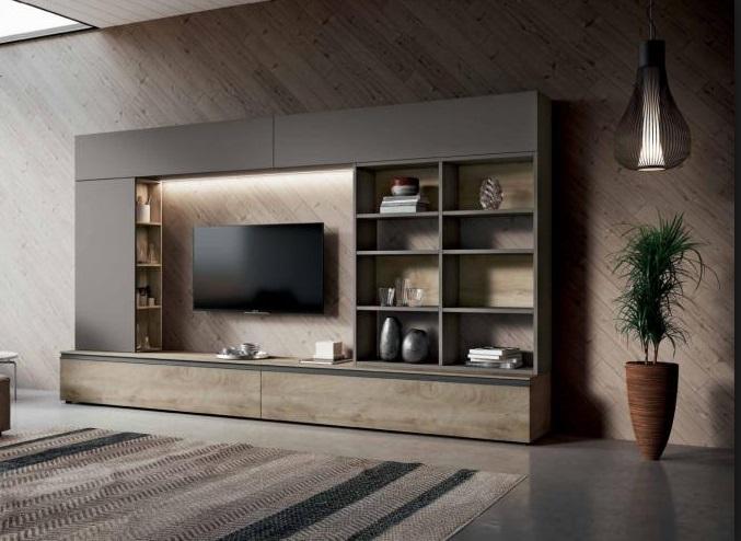 Soggiorno Moderno Componibile Urban Style Modello Mito 4.0 Composizione 304