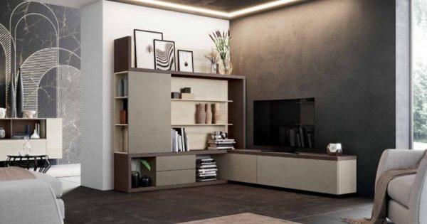 Soggiorno Moderno Componibile Urban Style Modello Mito 4.0 ...