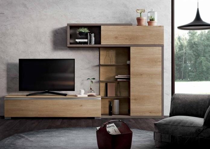 Soggiorno Moderno Componibile Urban Style Modello Mito 4.0 Composizione 319